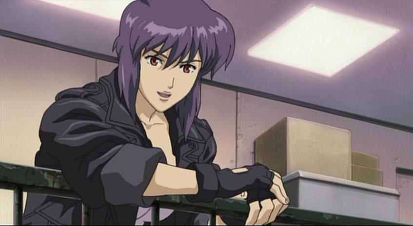Motoko kusanagi sexuality